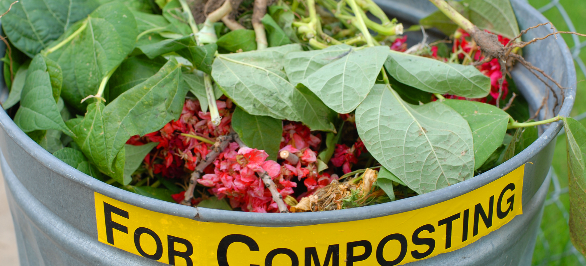 Composting can