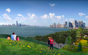 Governors Island planning image from West8